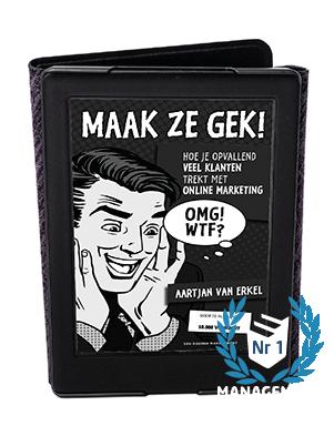E-book MAAK ZE GEK!