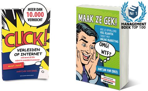 Verleiden op internet - bestseller door Aartjan van Erkel